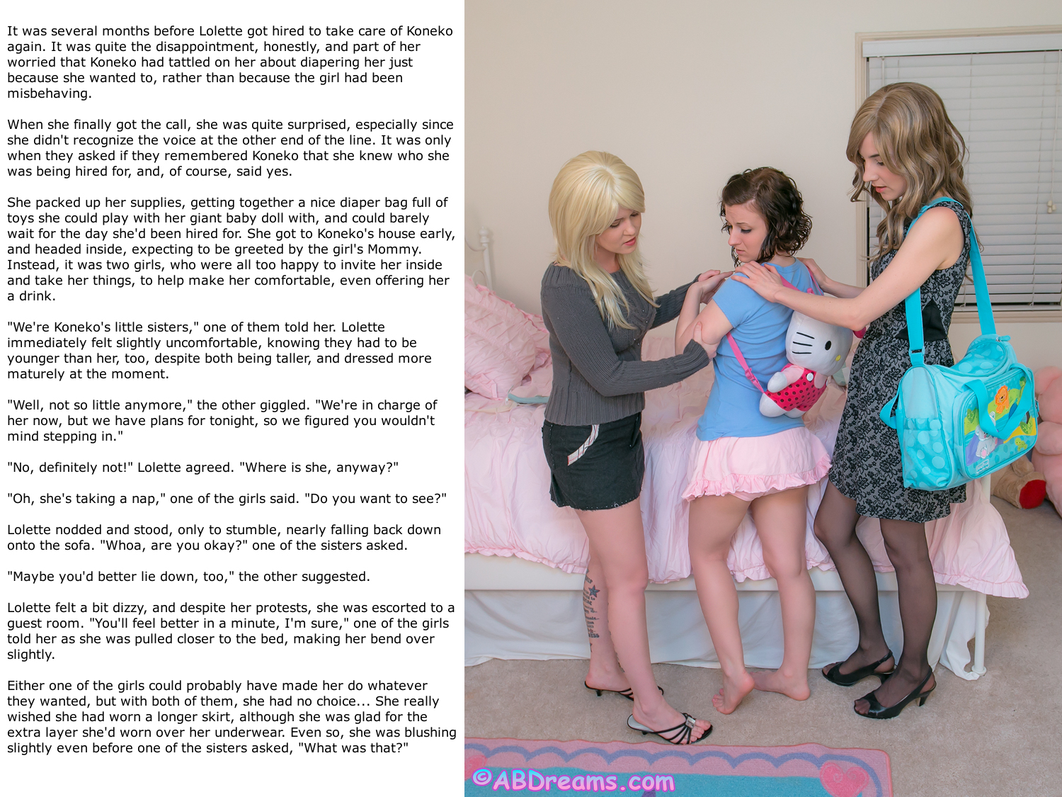 adult sissy baby story